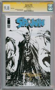 Spawn #235 Sketch Variant CGC 9.8 Signature Series Signed Todd McFarlane Image comic book